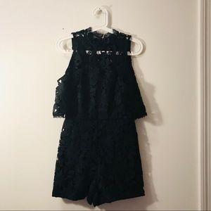 Alice + Olivia Black Jumpsuit /Dress Size 4